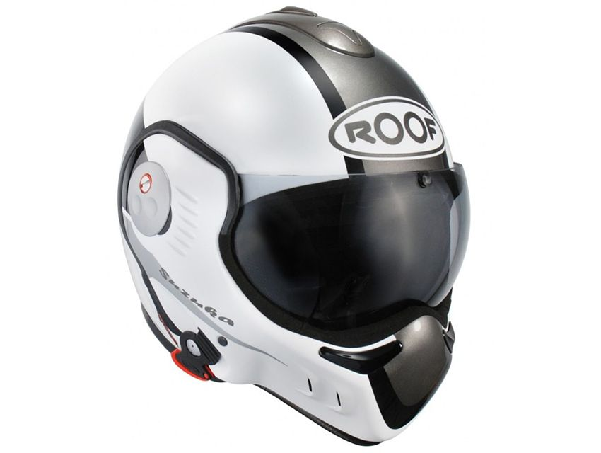 casque modulable ro5 boxer v8 full black roof moto scooter motos d 39 occasion