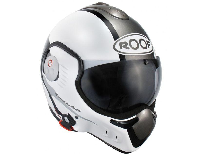 casque modulable ro5 boxer v8 full black roof moto scooter motos d 39 occasion. Black Bedroom Furniture Sets. Home Design Ideas