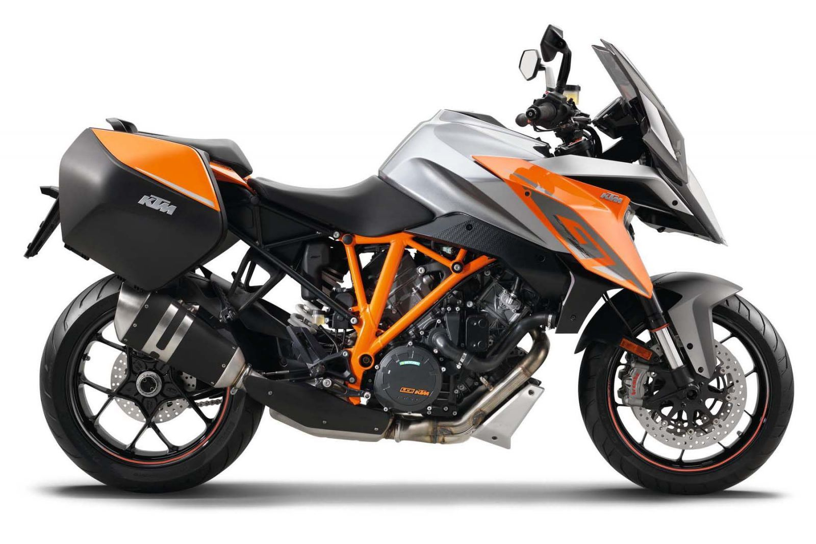 trail ktm 1290 super duke gt - moto scooter