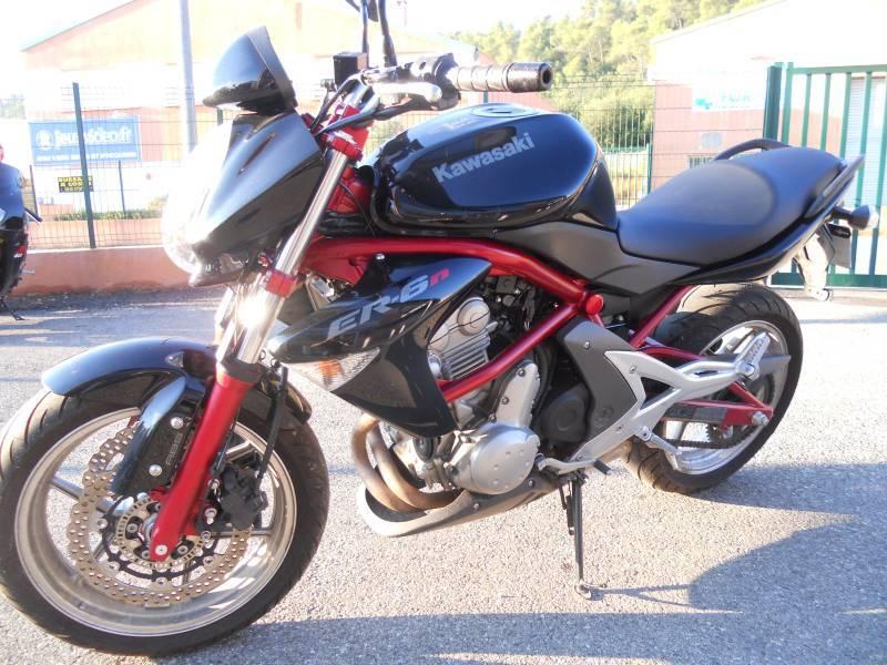 a vendre kawasaki er6n abs de 2005 mont supermotard sur saint maximin 83 moto scooter. Black Bedroom Furniture Sets. Home Design Ideas