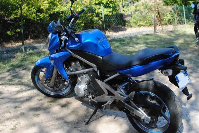 kawasaki er6 n d 39 occasion dition limit e vendre par particulier moto scooter motos d. Black Bedroom Furniture Sets. Home Design Ideas