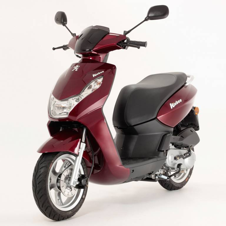petit scooter citadin 50 cc peugeot neuf le kisbee. Black Bedroom Furniture Sets. Home Design Ideas