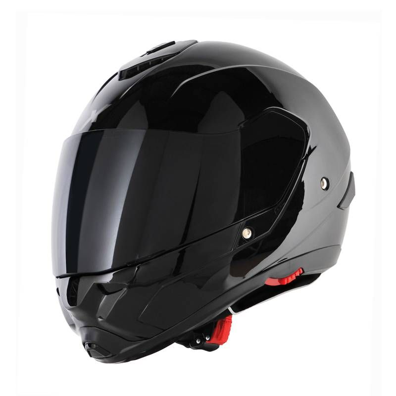 casque int gral moto ou scooter dexter x pilot noir moto. Black Bedroom Furniture Sets. Home Design Ideas