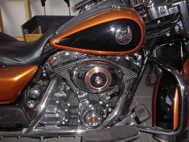 harley davidson road king 105th d 39 occasion vendre moto scooter motos d 39 occasion. Black Bedroom Furniture Sets. Home Design Ideas