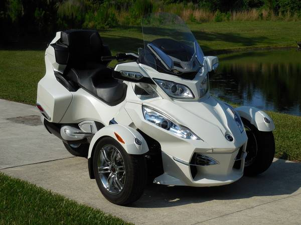 can am spyder 1000 rt limited se5 - moto scooter