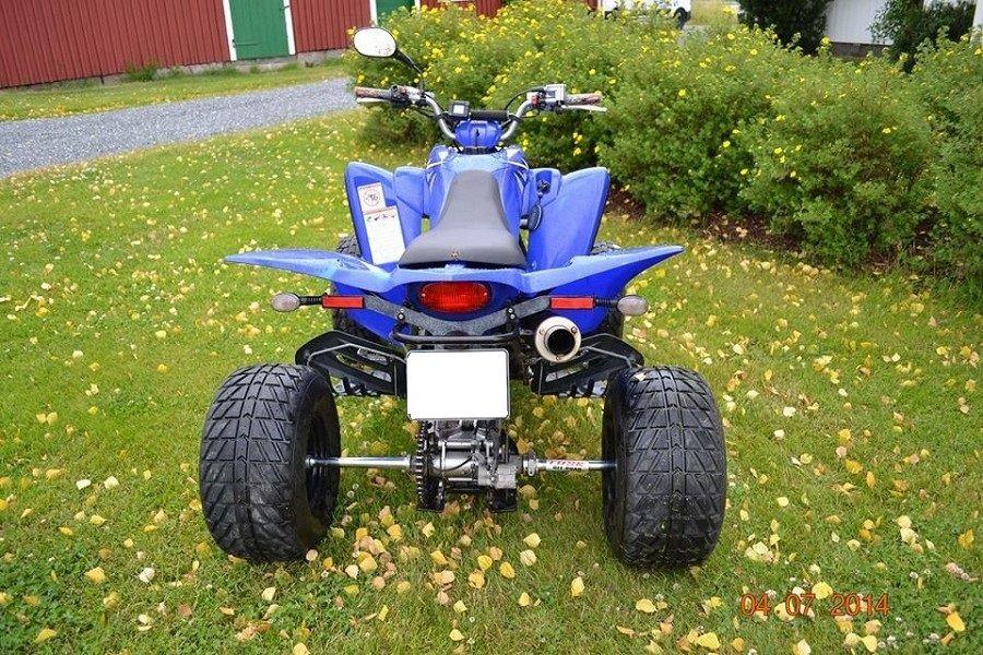 quad occasion yamaha yfm 350 raptor 2008 moto scooter motos d 39 occasion. Black Bedroom Furniture Sets. Home Design Ideas