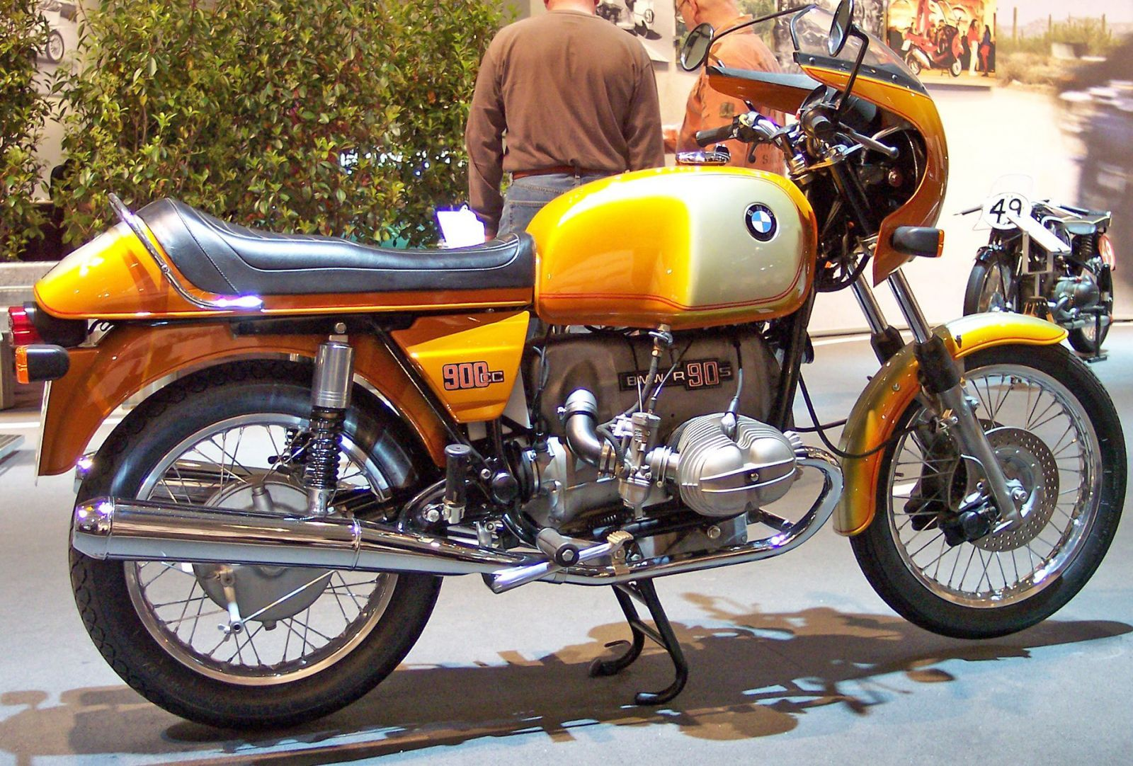 moto bmw vintage r90s c l bre routi re sportive des 70 39 s moto scooter motos d 39 occasion. Black Bedroom Furniture Sets. Home Design Ideas
