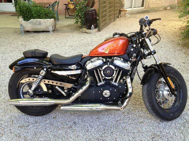 harley davidson sportster xl48 moto d 39 occasion vendre. Black Bedroom Furniture Sets. Home Design Ideas
