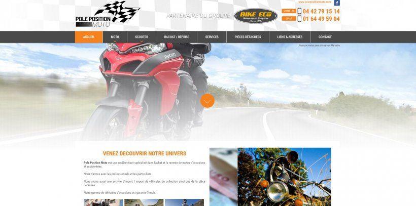 vente de motos et scooters accident s pour pi ces marseille pole position moto moto. Black Bedroom Furniture Sets. Home Design Ideas